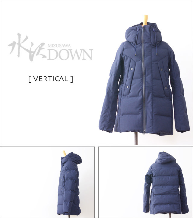 DESCENTE [デサント] MIZUSAWA DOWN JACKET 「VERTICAL」 [DIA3573U]  MEN\'S_f0051306_13233729.jpg
