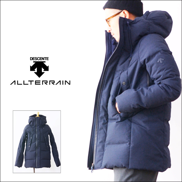 DESCENTE [デサント] MIZUSAWA DOWN JACKET 「VERTICAL」 [DIA3573U]  MEN\'S_f0051306_13233745.jpg