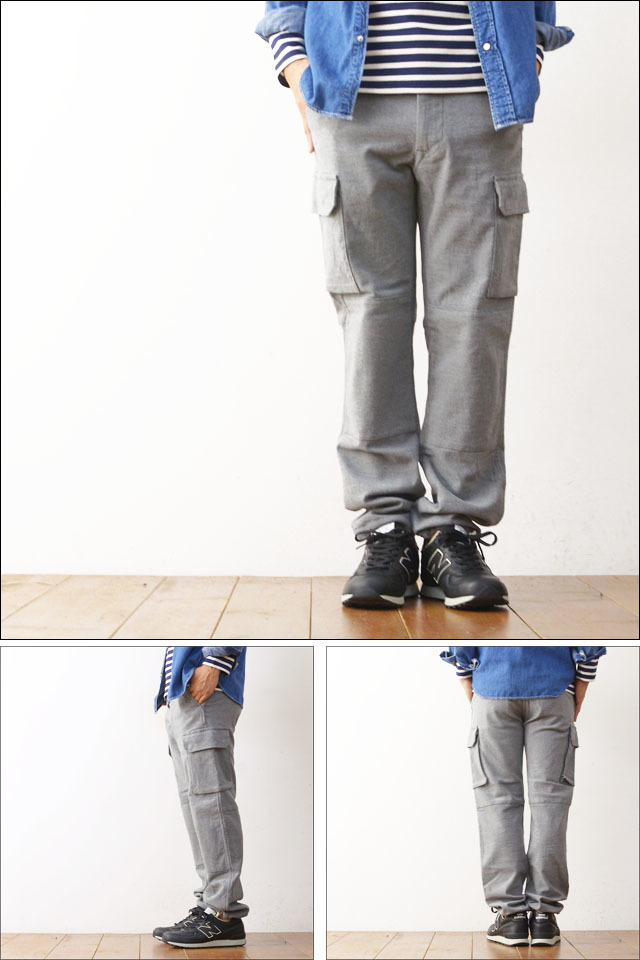 DELICIOUS [デリシャス] MOULSKIN RAUL F2 CARGO PANTS [DP0106] MEN\'S_f0051306_20273639.jpg