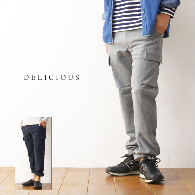 DELICIOUS [デリシャス] MOULSKIN RAUL F2 CARGO PANTS [DP0106] MEN\'S_f0051306_20273653.jpg