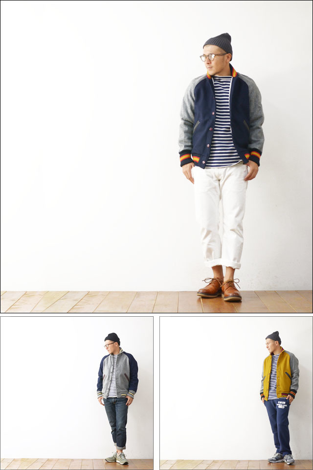 SKOOKUM [スクーカム] AWARD JACKET MELTON [SK-AW] MEN\'S_f0051306_20362806.jpg