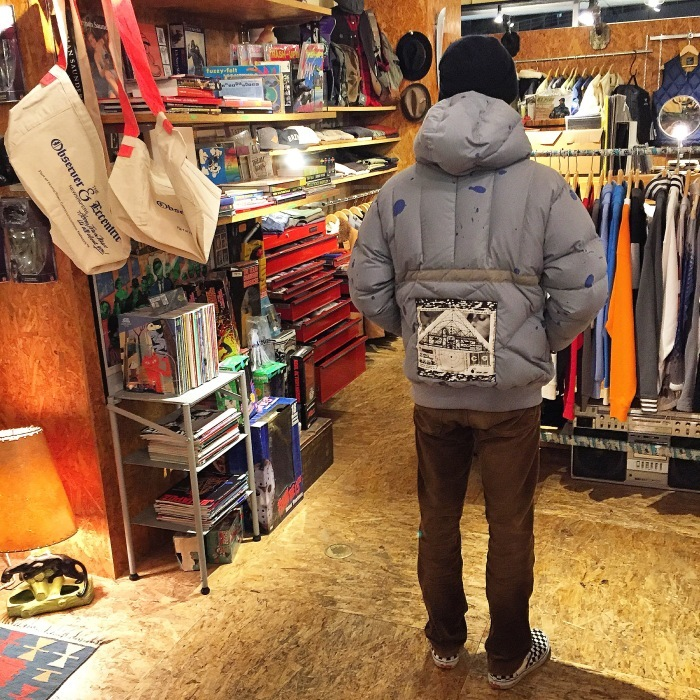 【NEW ARRIVAL】 C.E  HALF ZIP JACKET_b0121563_19530703.jpeg