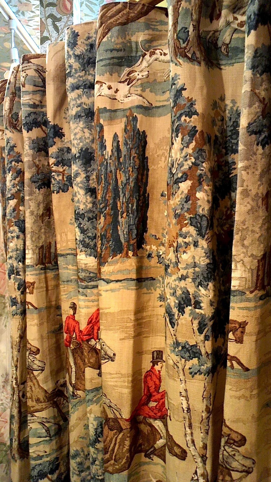 サンダーソンのヴィンテージカーテン_c0157866_19103642.jpg