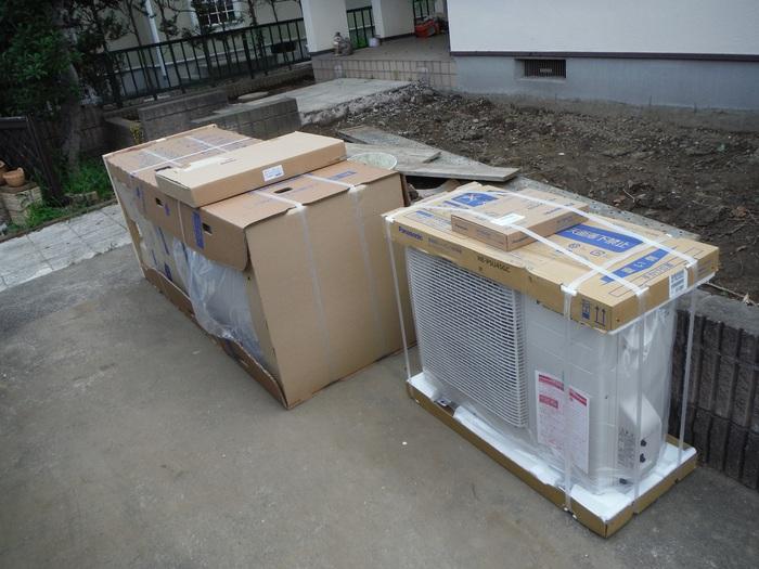 ガーディニング工事 ~ エコ給湯器取替終了です。_d0165368_541394.jpg