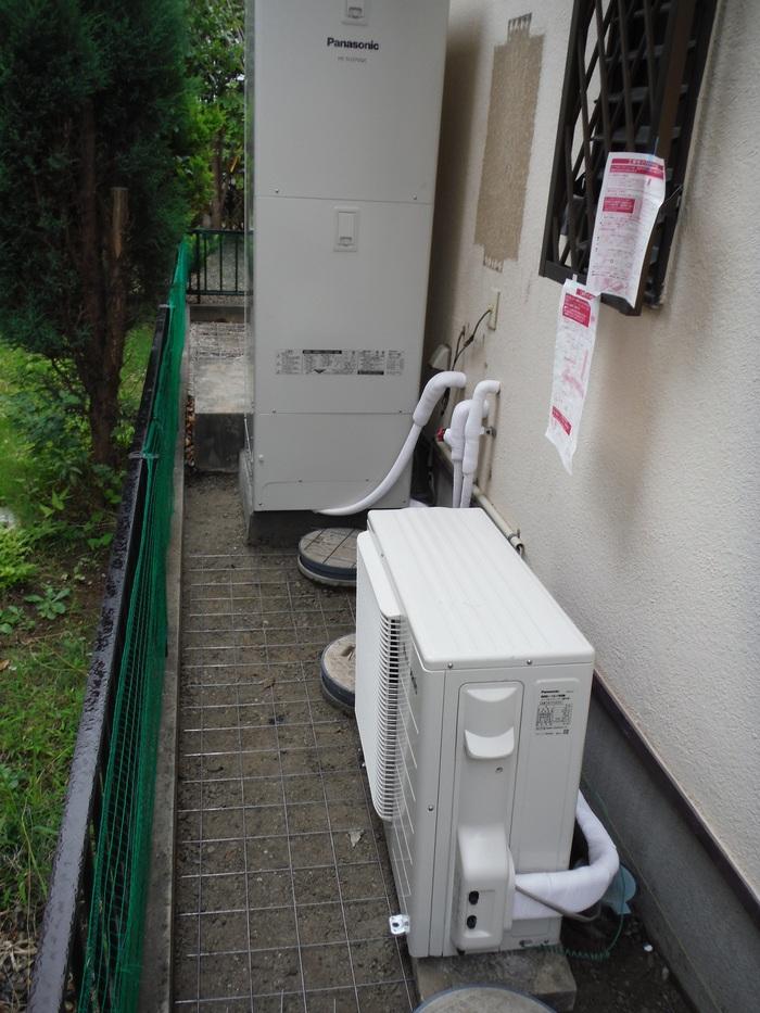 ガーディニング工事 ~ エコ給湯器取替終了です。_d0165368_543822.jpg
