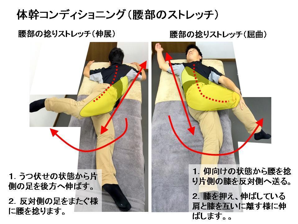 腰痛予防の為の体幹部のウォーミングアップ(回旋の可動域改善)_c0362789_13340226.jpg