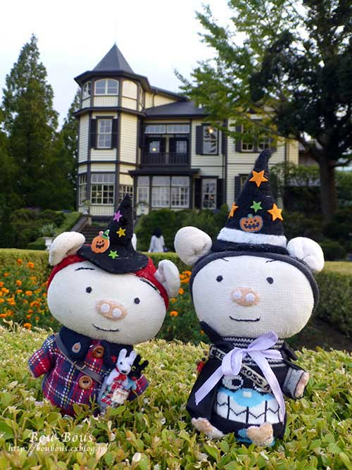 横浜西洋館めぐりハロウィンーその1_d0128697_21565363.jpg