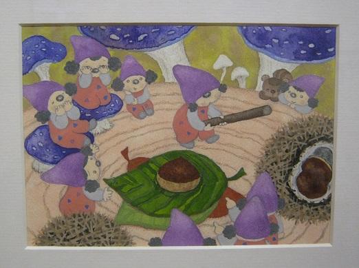 たまごの工房企画 「森と茸とコビトたち」 展 その3_e0134502_16375267.jpg