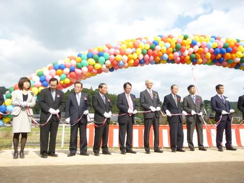 10月29日 島田川工業用水道建設の起工式_c0104626_17144856.jpg