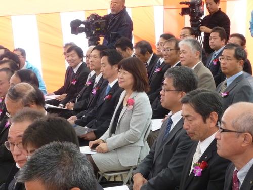 10月29日 島田川工業用水道建設の起工式_c0104626_18382344.jpg