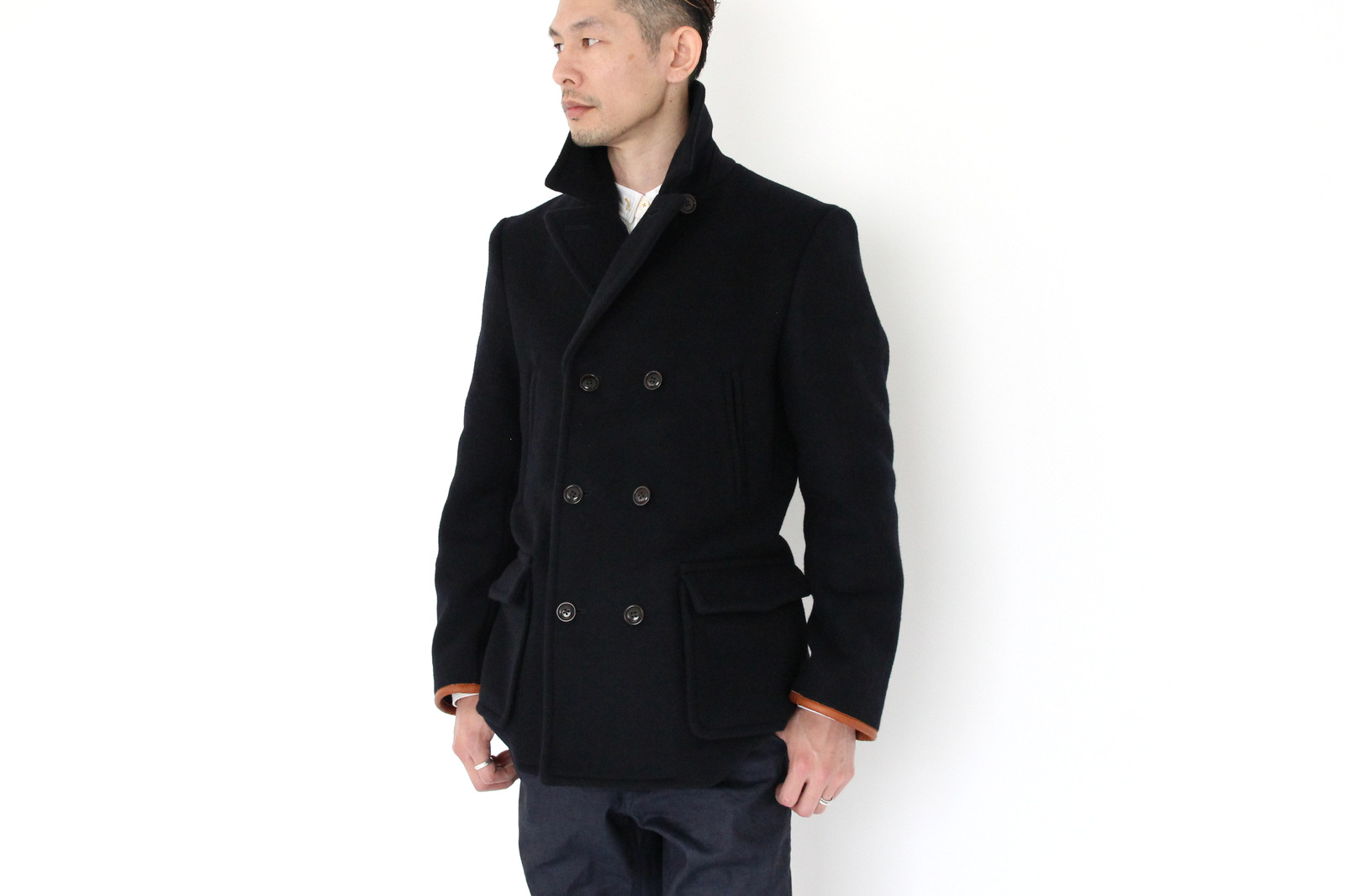 Wool Melton Double P-Coat _e0142928_2135136.jpg