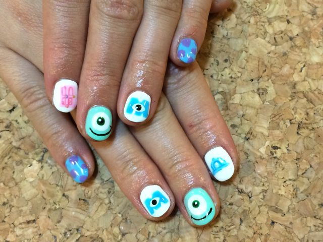 Monsters, Inc. Nail_a0239065_16291952.jpg