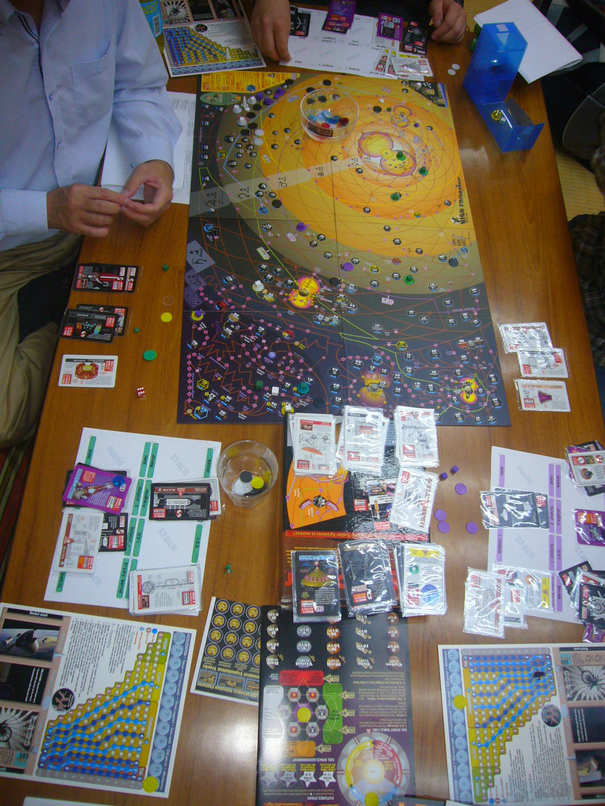 YSGA第316回定例会の様子その8 (Sierra Madre Games)High FrontierとGreenland)_b0173672_23193919.jpg