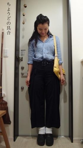正統派女学生の冷え取りファッション15 10/29_c0342582_00062308.jpg