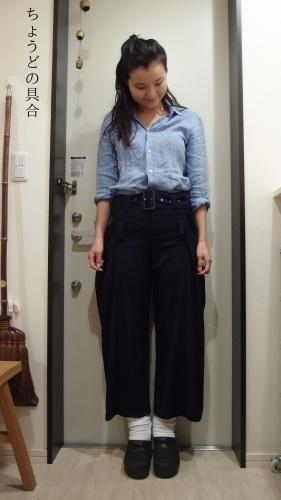 正統派女学生の冷え取りファッション15 10/29_c0342582_00065657.jpg