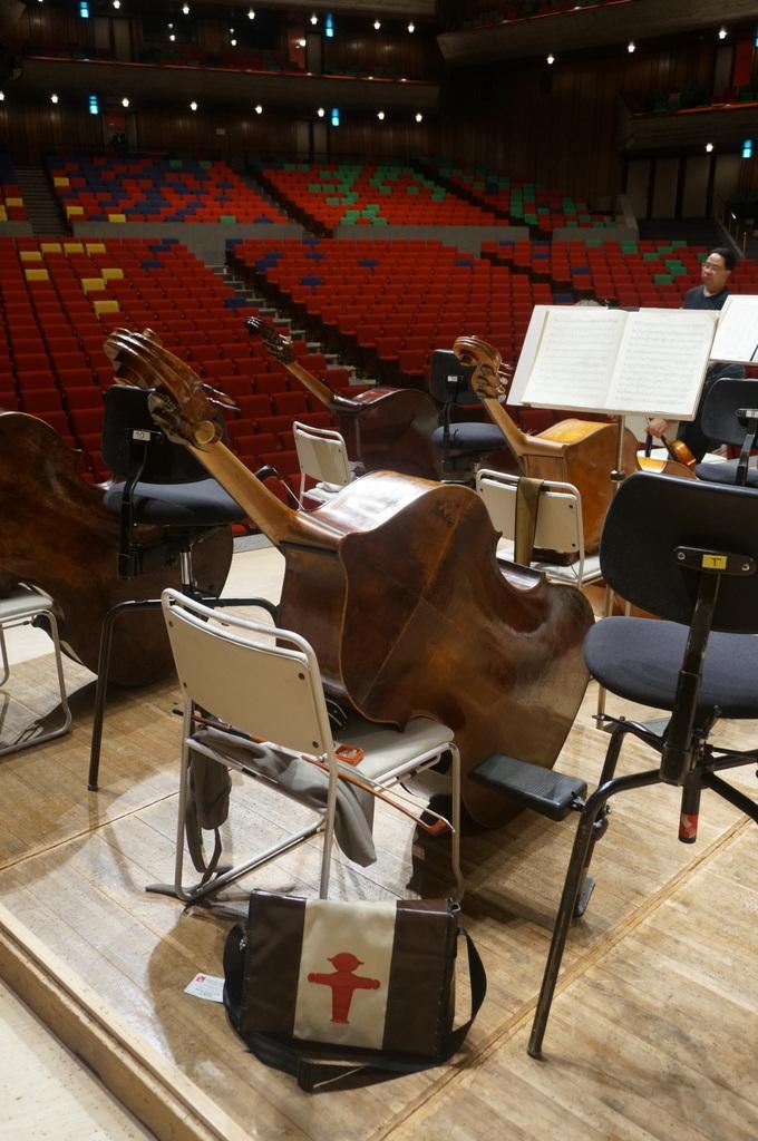 東京文化会館でのコンサートの日。_c0180686_11525861.jpg