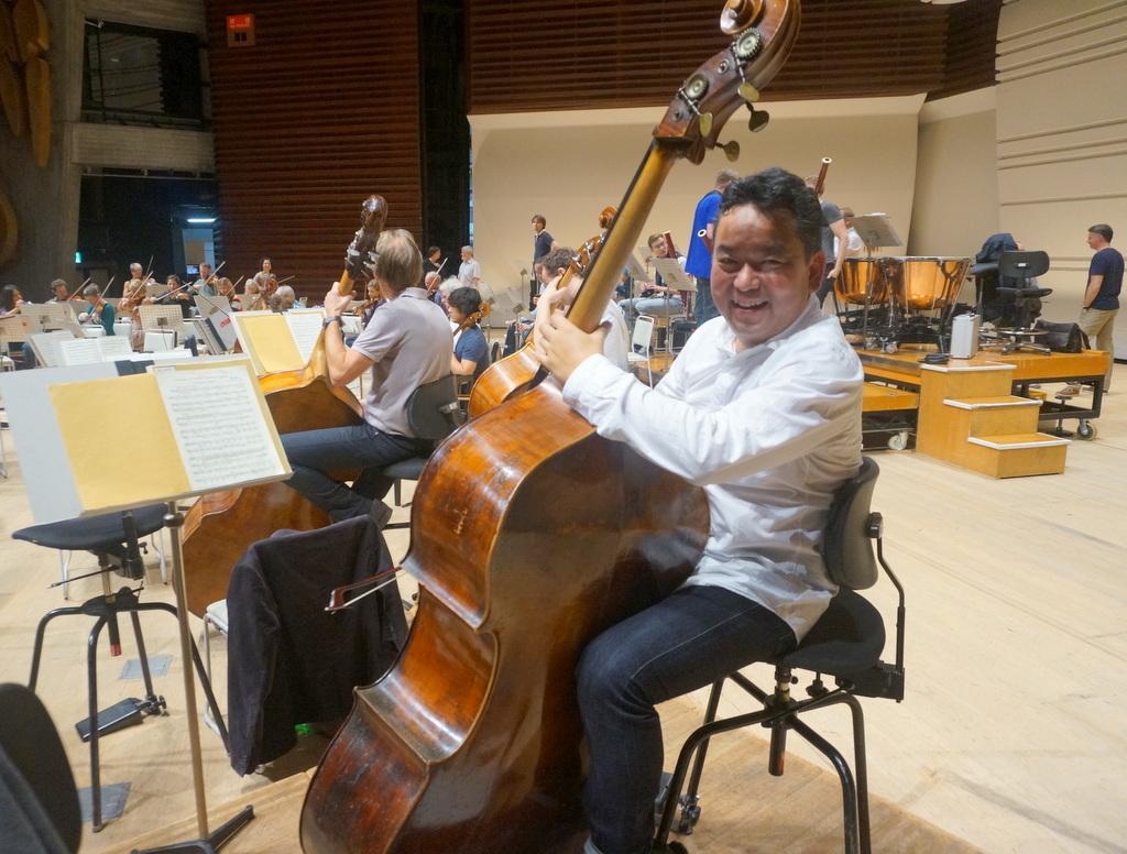 東京文化会館でのコンサートの日。_c0180686_11530392.jpg