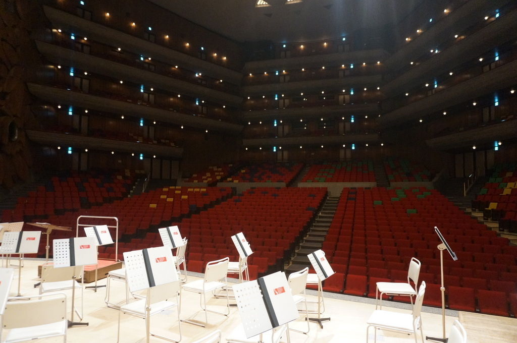 東京文化会館でのコンサートの日。_c0180686_11530817.jpg