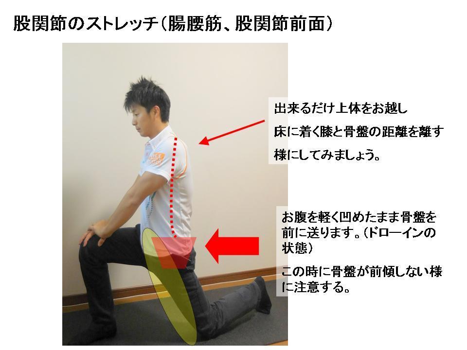 腰痛に効果的なセルフケア(股関節のストレッチ)_c0362789_10191042.jpg