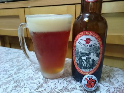 夜勤明けのビールVol.252 石川酒造 TOYODAビール 330ml¥500_b0042308_1848589.jpg