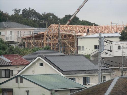 ひかりの子幼稚園木造建て方_e0240310_18103929.jpg