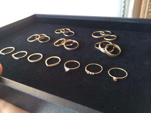 MARULAB    18金 ダイヤモンド&シンプルリングフェア!_c0221922_16050185.jpg