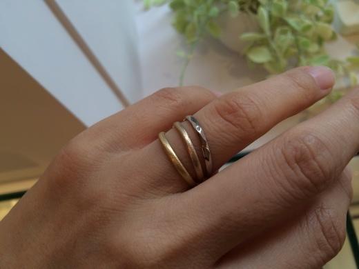 MARULAB    18金 ダイヤモンド&シンプルリングフェア!_c0221922_17222443.jpg