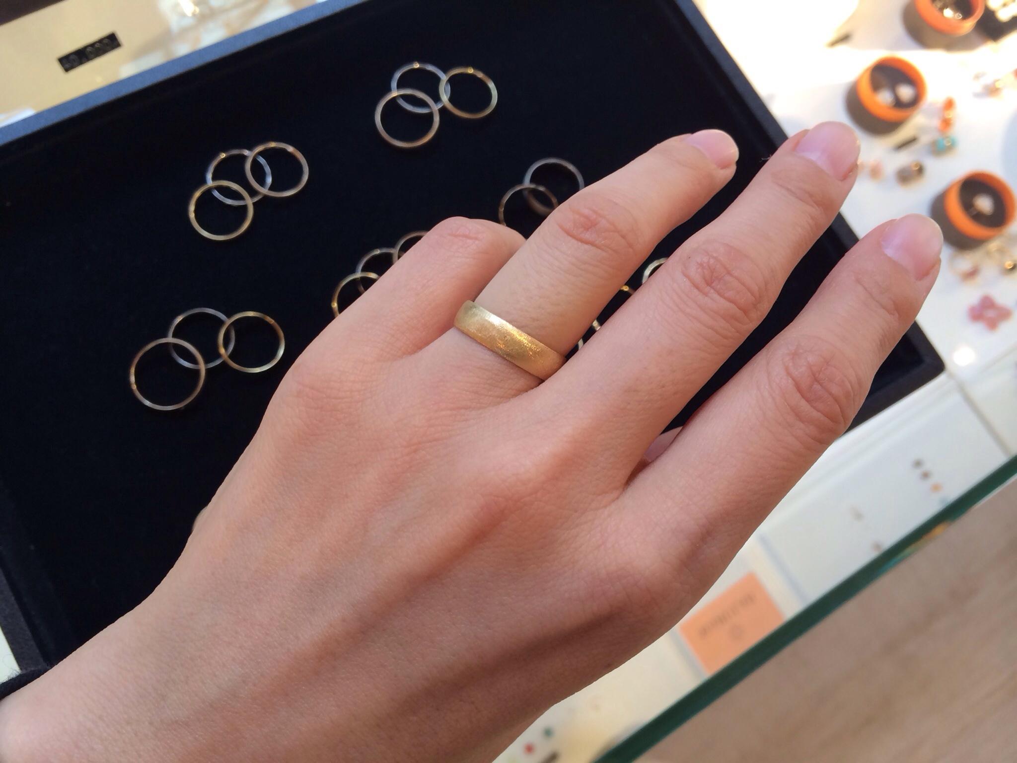 MARULAB    18金 ダイヤモンド&シンプルリングフェア!_c0221922_17243588.jpg