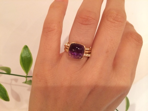 MARULAB    18金 ダイヤモンド&シンプルリングフェア!_c0221922_17372331.jpg