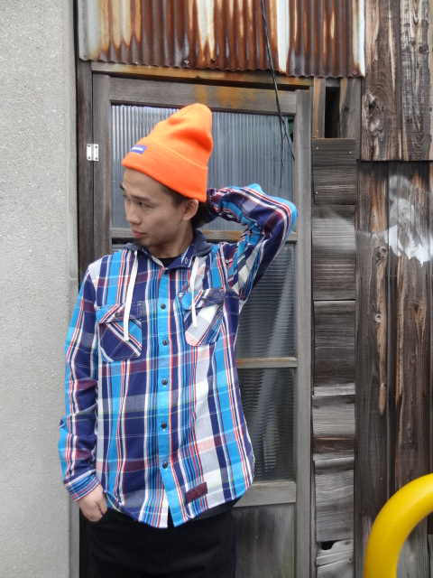 Lafayette THERMAL HOODED NEL SHIRT!!!_a0221253_18481159.jpg