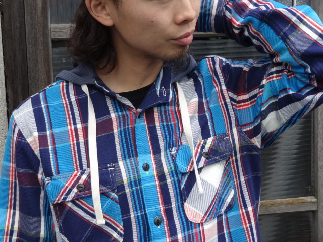 Lafayette THERMAL HOODED NEL SHIRT!!!_a0221253_1848234.jpg