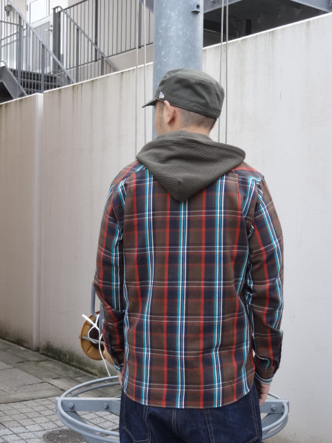 Lafayette THERMAL HOODED NEL SHIRT!!!_a0221253_1959819.jpg