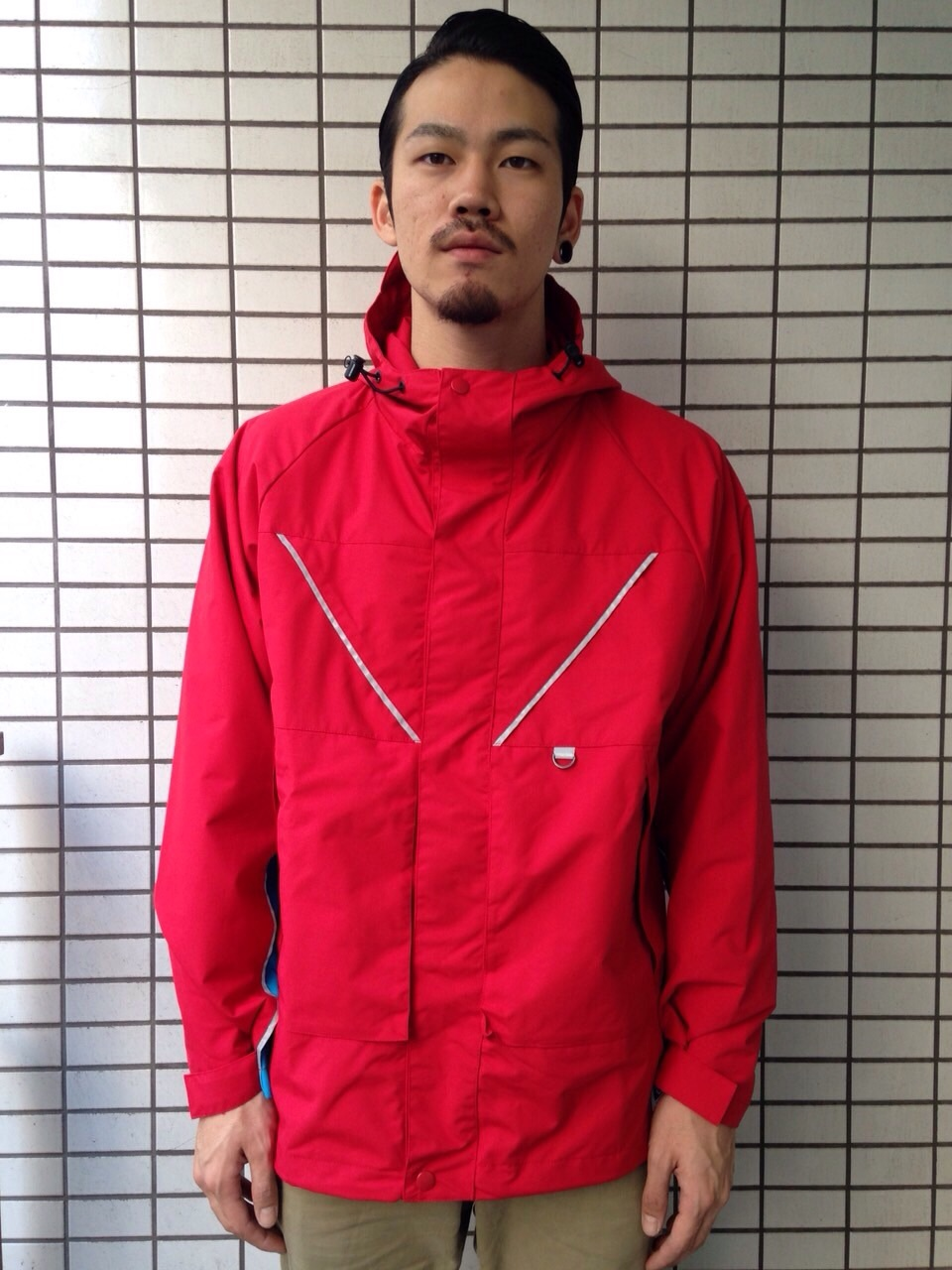 【NEW ARRIVAL】 INTERBREED 3M Lined Tech Jacket_b0121563_12090013.jpg