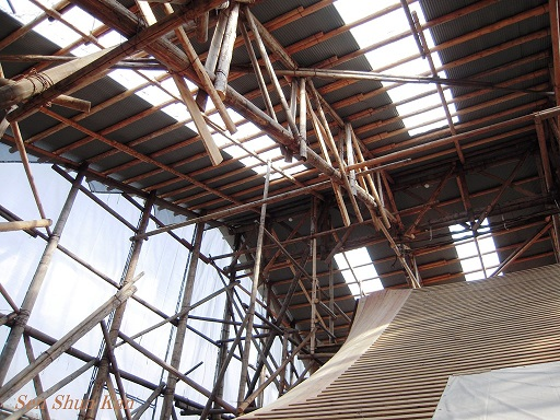 文化財建造物の保存修理 東寺観智院客殿 2015年_a0164068_20521519.jpg