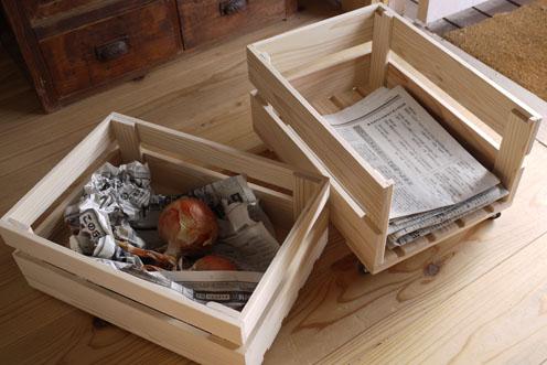 『古紙入れ&野菜BOX』できました。_c0334574_2125498.jpg