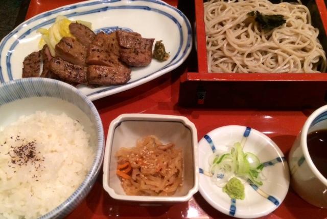 蕎麦&牛タン!(^▽^;)_a0161408_22195438.jpg