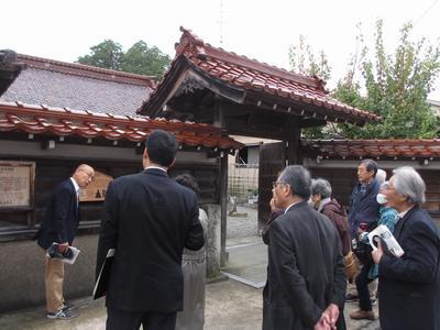 「芭蕉の館」研修旅④建聖寺へ_f0289632_2043799.jpg