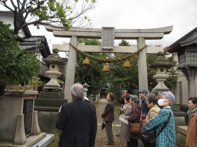 「芭蕉の館」研修旅③多太神社へ_f0289632_2131935.jpg
