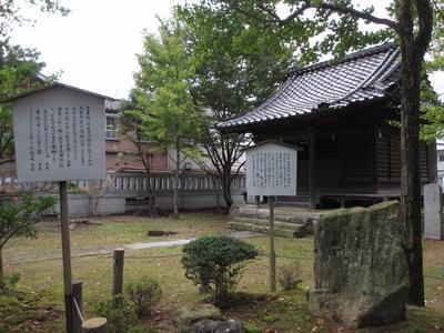 「芭蕉の館」研修旅③多太神社へ_f0289632_2152572.jpg