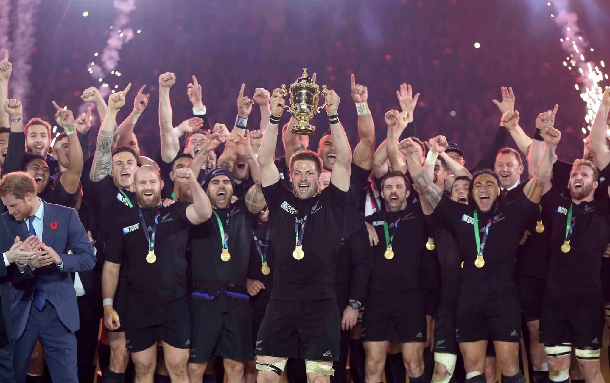 ラグビーワールドカップ2015で優勝したニュージーランド代表