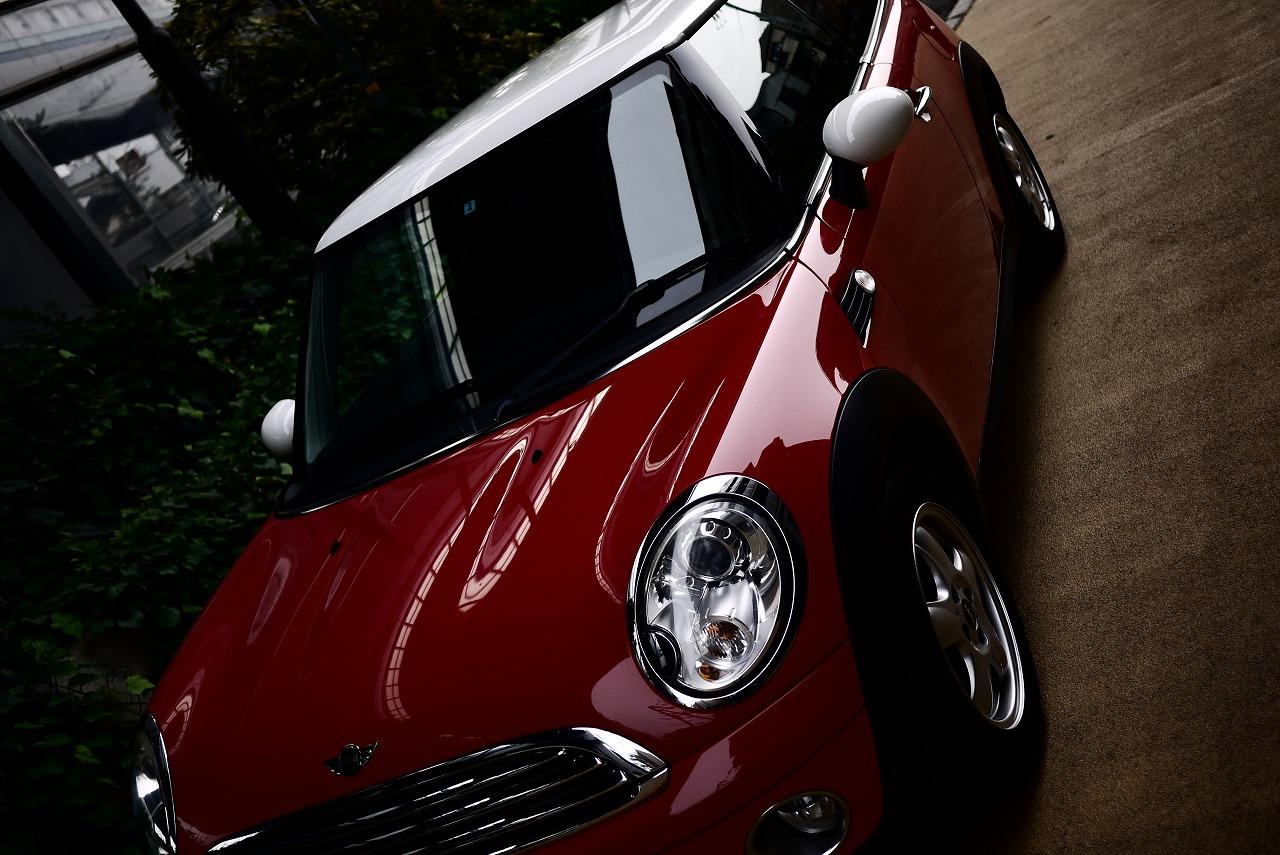 R56 BMW ミニ 磨きのメンテナンス_d0171835_14304956.jpg