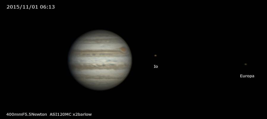 木星撮影始めました_a0095470_1914295.jpg
