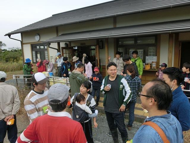 浮島ヶ原自然公園で「セイタカアワダチソウをやっつけよう!」作戦_f0141310_9303995.jpg
