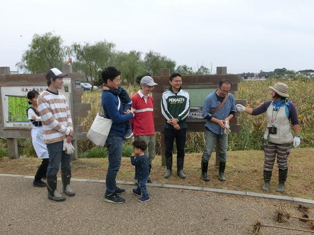 浮島ヶ原自然公園で「セイタカアワダチソウをやっつけよう!」作戦_f0141310_9322844.jpg