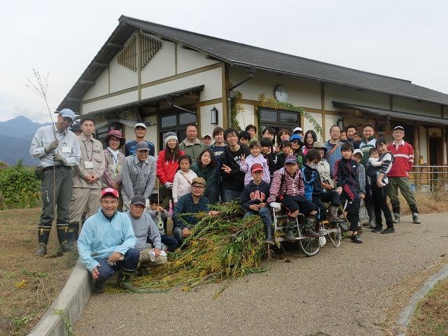 浮島ヶ原自然公園で「セイタカアワダチソウをやっつけよう!」作戦_f0141310_9324059.jpg