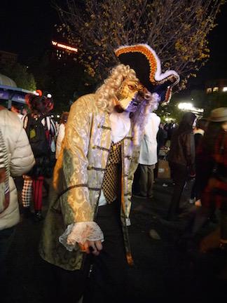 NYのハロウィン・パレード2015  ツボ大賞はムンクの「叫び」!_c0050387_16281443.jpg