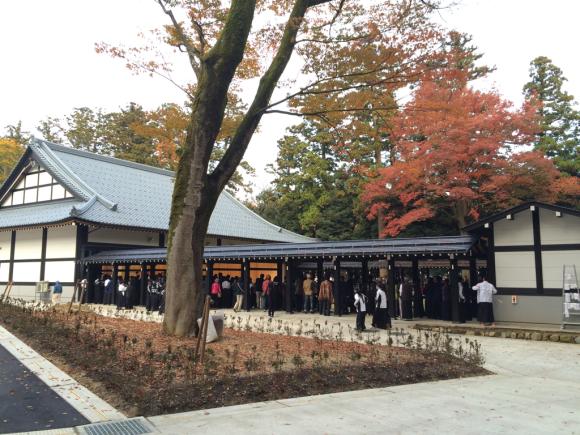 弥彦神社 弓道場_c0170940_19171339.jpg