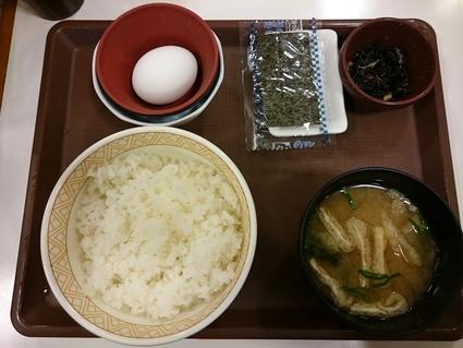11/3 たまごかけごはん朝食¥220@すき家_b0042308_23394245.jpg