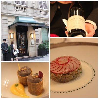 パリの老舗レストラン 【TAILLEVENT】タイユヴァン _c0141025_18194770.jpg