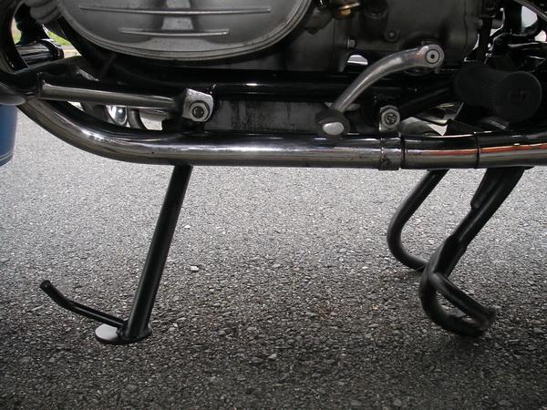 BMW R50 油脂類の交換とサイドスタンド _e0218639_1042057.jpg